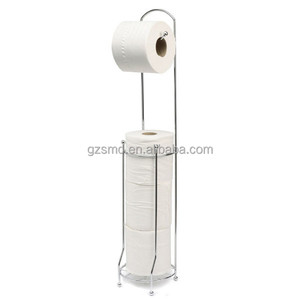 Chrome Wire Toilet Paper Roll Holder
