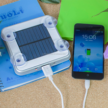Portable Port Mobile Window Solar Charger, New Design And Creative Window Solar Cell Phone Charger