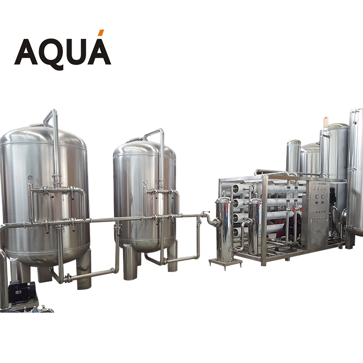 Aerated Salt Portable Water Treatment System Plant