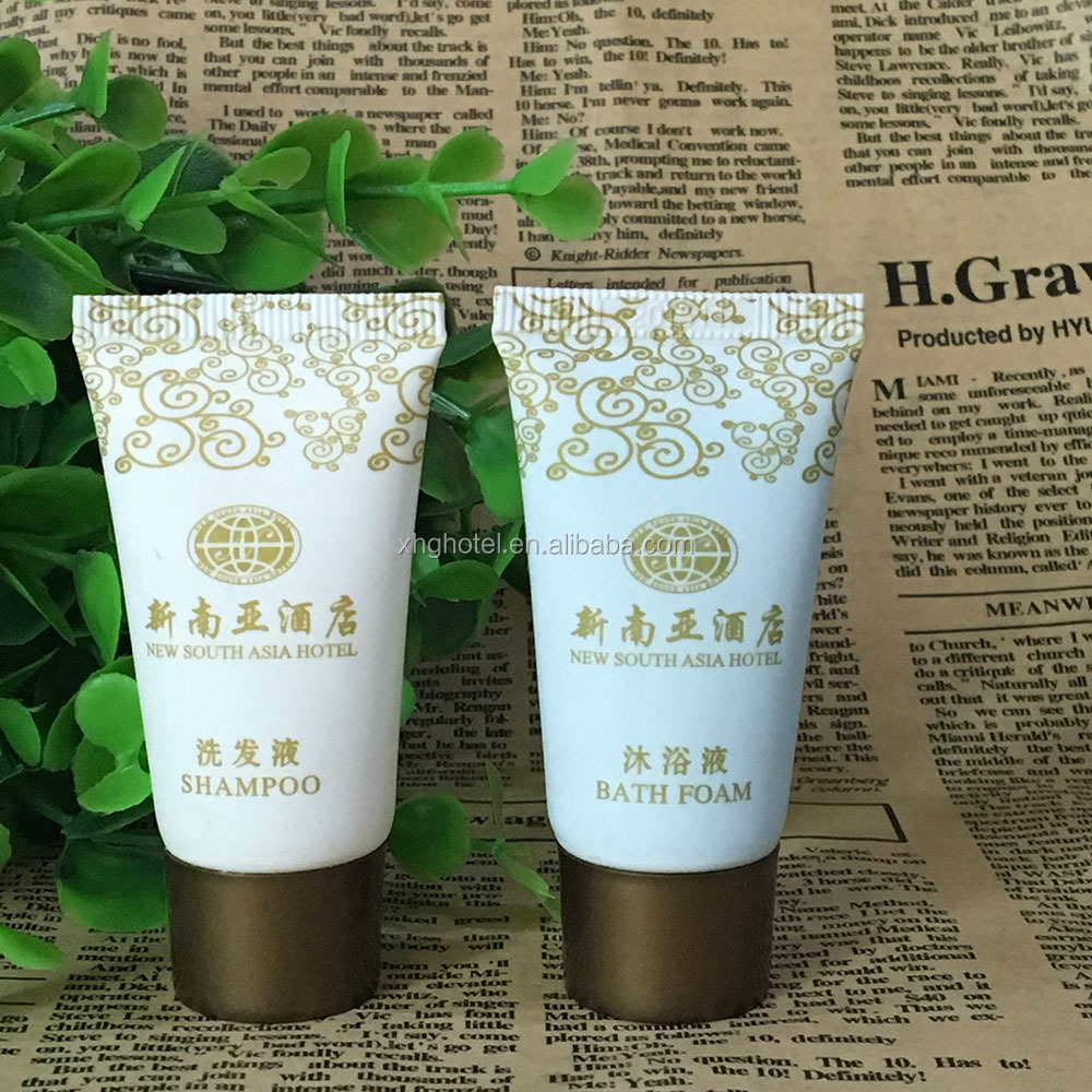 Bath and Shampoos for The Hotel Industry, Personalized Hotel Shampoo Bottles/Tube