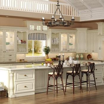 American Solid Wood Modular Kitchen Furniture Design Buy Solid