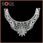Big Flower Cotton Crochet Necklace Collar Lace Applique BK-CL870