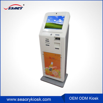 Advertising Swift Media Touch Screen Qr Code Reader / Barcode Reader Self  Service Kiosk - Buy Barcode Reader Self Service Kiosk,Touch Screen