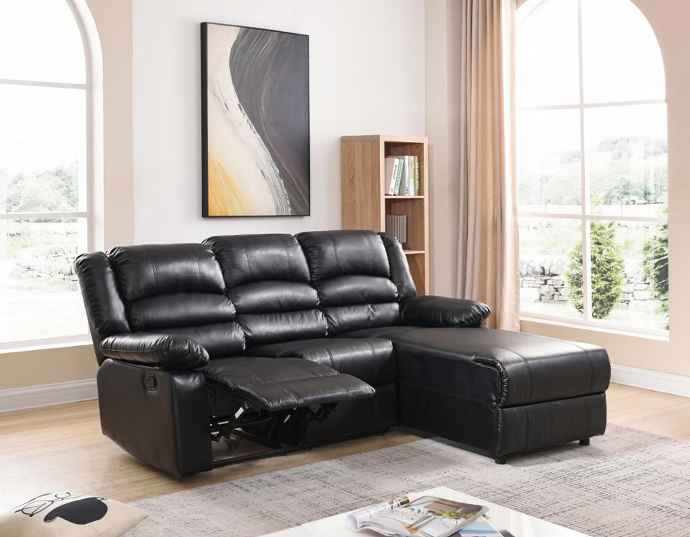 Fancy Modern Recliner Sofa Set Luxury