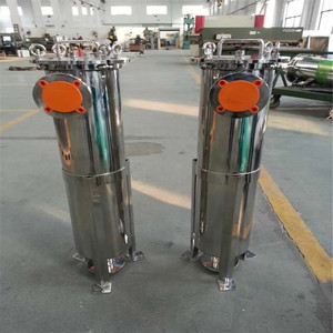 High output stainless steel 304/316L multi-bags filter housing for water industry treatment