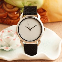 wholesale import low price with thin simple dial japan movt quartz leather band watch waterproof watch men's custom logo watch