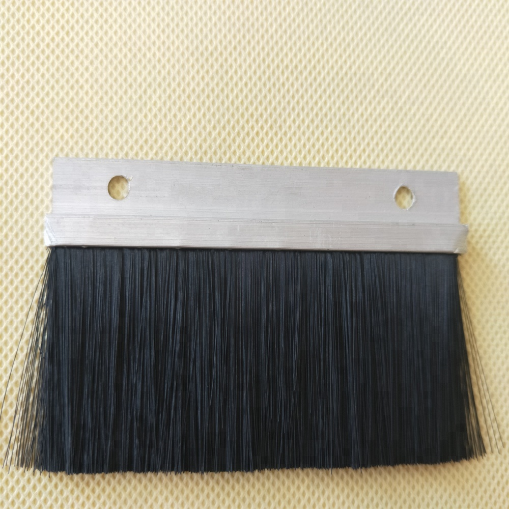 Stormguard Industrial Door Brush Seal Aluminium Buy Stormguard