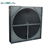 AHU total&sensible rotary wheel heat recovery exchanger