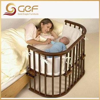 Cuna Adjunta De La Madre Cama Bebé Recién Nacido Cuna Gef-bb-12 ...
