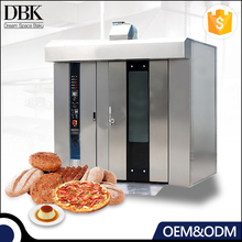 Commercial automatic bakery loaf bread machine rotary baking oven price