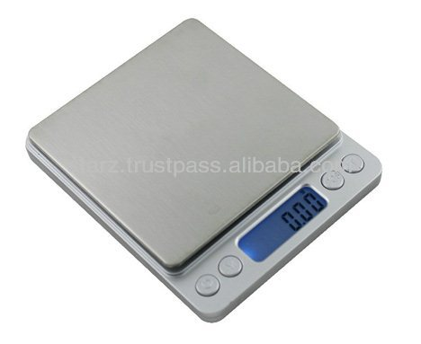Stainless Steel Mini Weighing Scale for Kitchen Use