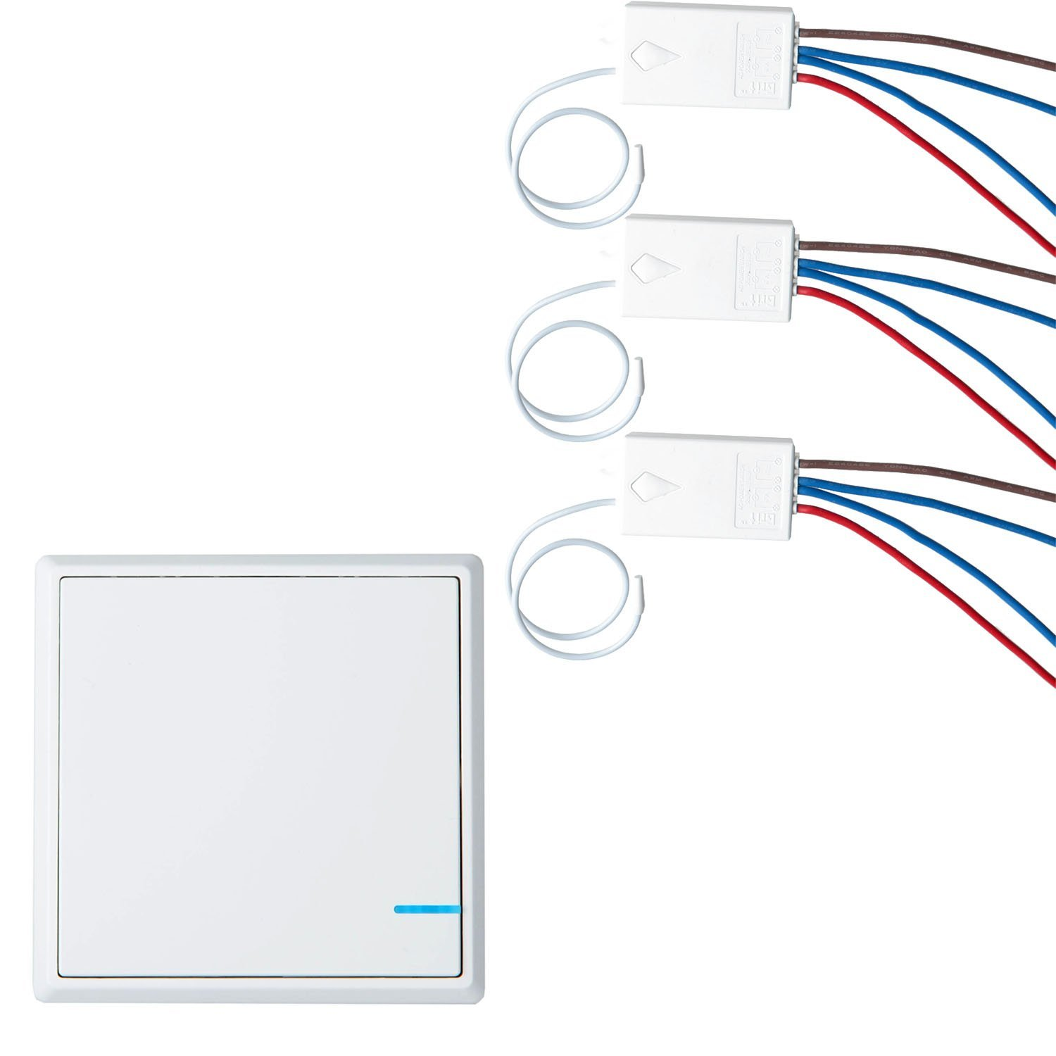 Cheap Wireless Light Switch And Receiver Find How To Wire A Plug Outlet Remote Get Quotations Greencycle Smart Wall 1 3 Control