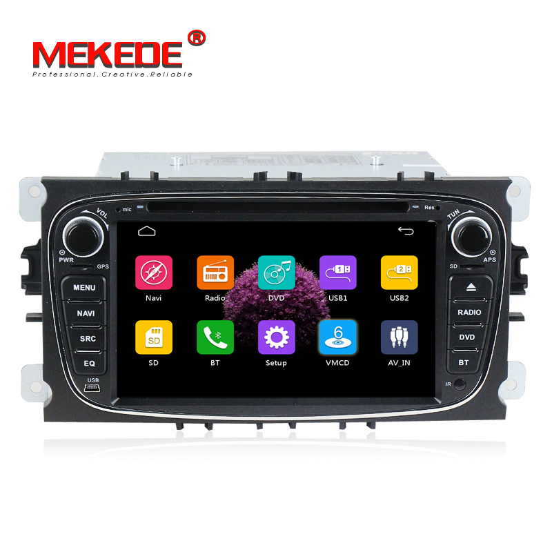 "Mekede Wince6.0 7 ""Auto Radio Stereo Systeem Auto DVD Speler met GPS voor Ford Focus 2 2008-2011 /Mondeo/S-MAX/c-MAX/Galaxy Wifi 3G"