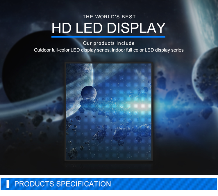 Shenzhen Factory Fixed Outdoor Installation P10 Full-color Video