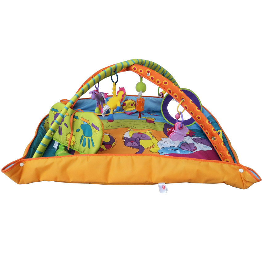 Оптовая продажа цена детские роскошные игры большой одеяло сияние площадку ребенок crawing одеяло для сна в возрасте 6 -- 24monthsBF761