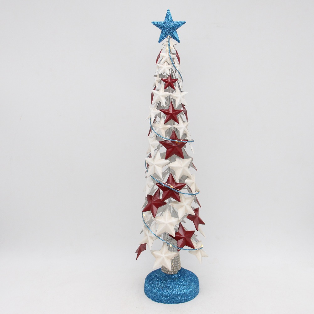 Hollow Out Metal Christmas Tree