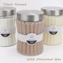 520 Supermarket Sell Candle Talent Fareast Branded Candle With Glass Jar
