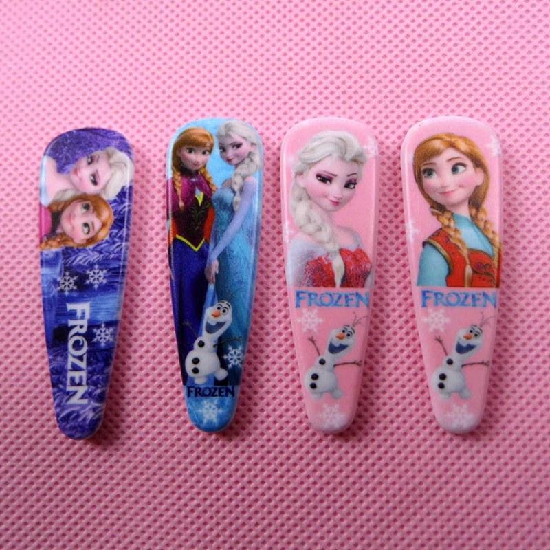 6pcs fashion European and American popular children s cartoon girl headdress hairpin hairpin plate hair hair