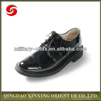 Police Men Military Officer Shoes