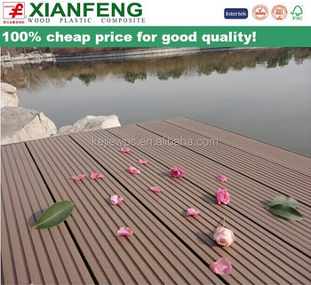 Wpc Wood Plastic Composite Flooring Waterproof Decking