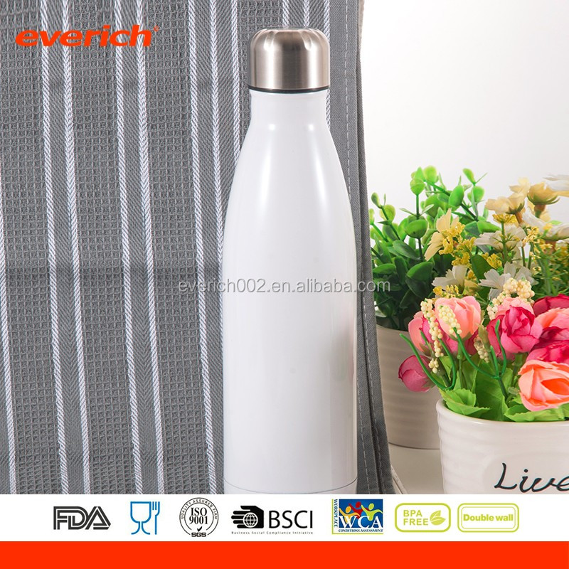 Double Wall Stainless Steel Insulated Bottle,Cola Shaped Flask