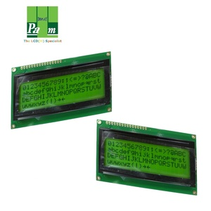 small 20x4 display LCD 2004 character mono displays FSTN STN positive  negative types