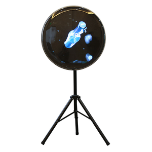 2019 New Products Full HD Four Blades Spinning Holographic 3D Fan LED Display Projector Advertising Hologram Fan