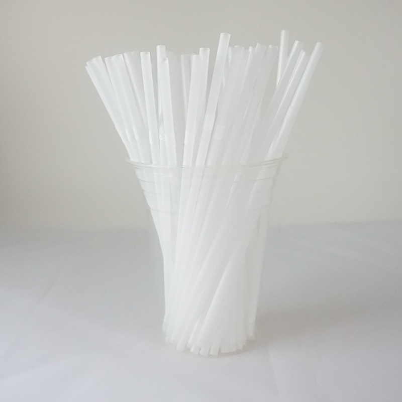 Disposable printed paper PLA drinking paper straws for party
