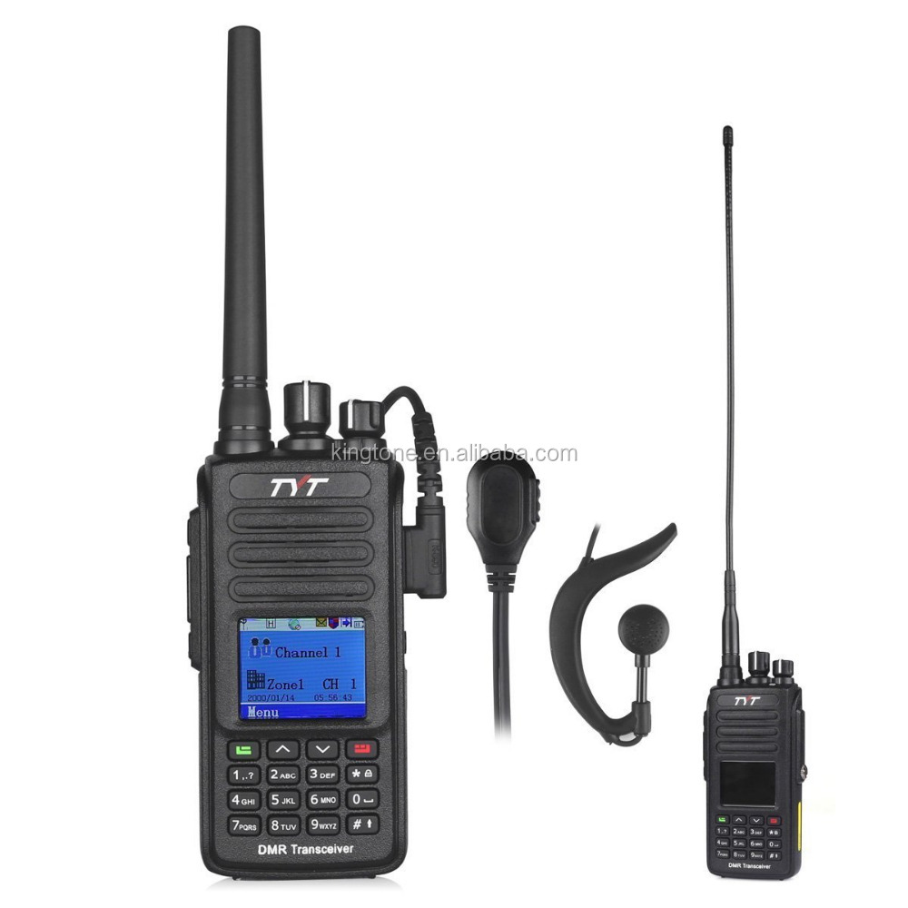 TYT Tytera Upgraded MD-390 DMR Digital Radio, with GPS Function! Waterproof Dustproof IP67 Walkie Talkie Transceiver