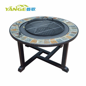 outdoor garden set cast iron garden furniture BBQ set