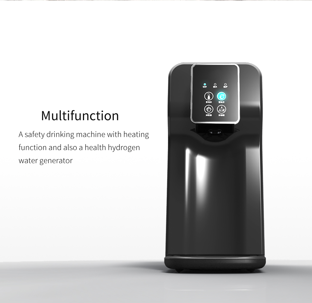 Countertop hydrogen water purifier machine with Reverse Osmosis System
