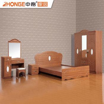 Modern Style Design Elegant Pvc Wooden Bed Bedroom Set Furniture Buy Apartment Furniturebedroom Set Furnituremodern Apartment Furniture Product On