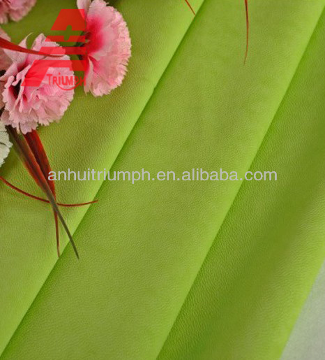 soft and high quality pu leathe for shoes and bags