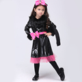 Cat Girl Cosplay Costumes Halloween Stage Performance Girl Costumes fantasia vestido Tutu dress Kids carnival party