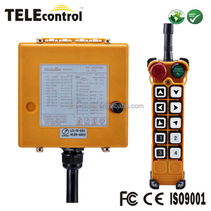 Telecontrol dual speed crane service Truck Electric or Hydraulic Industrial wireless Radio Remote Control F26-B3 For EOT crane