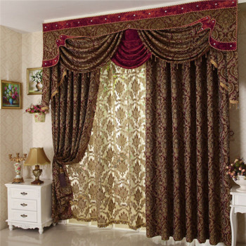 Arabic Curtains Jacquard Custom Curtains For Home Living