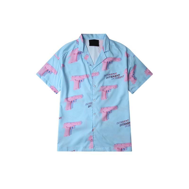 mens short sleeve hawaiian party shirts