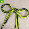 Colorful custom pattern round elastic shoe laces wholesale