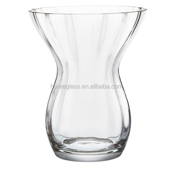 Wholesale Cheap Super Quality Straight Tall Glass Flower Vase