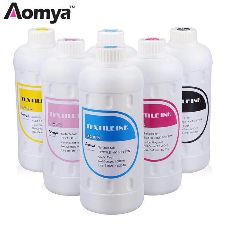 cmyk Textile Ink uv Ink Price for Cotton T-shirt printing
