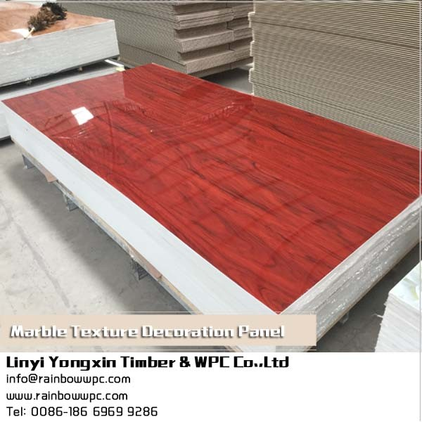 PVC Artificial Marble Sheet/Wall Panel/Interior Decoration Board Production