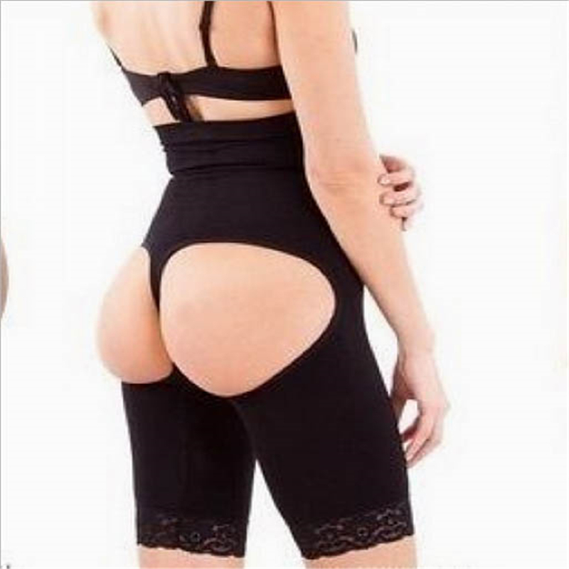 4b9c72b5c176a Get Quotations · Sexy Women Butt Lifting Panty Plus Size Lace Brink Slim  Lift Black Khaki Butt Lifter With