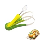 3pcs/ Set Fruit And Vegetable Tools 3in1 Melon Baller & Fruit Scoop