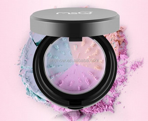 Professional personal care three color makeup concealer foundation mineral grinding loose powder