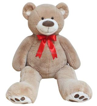 33e420728280 OEM Big Giant Plush Teddy Bear with bowtie Stuffed Cute Baby Accompany Doll