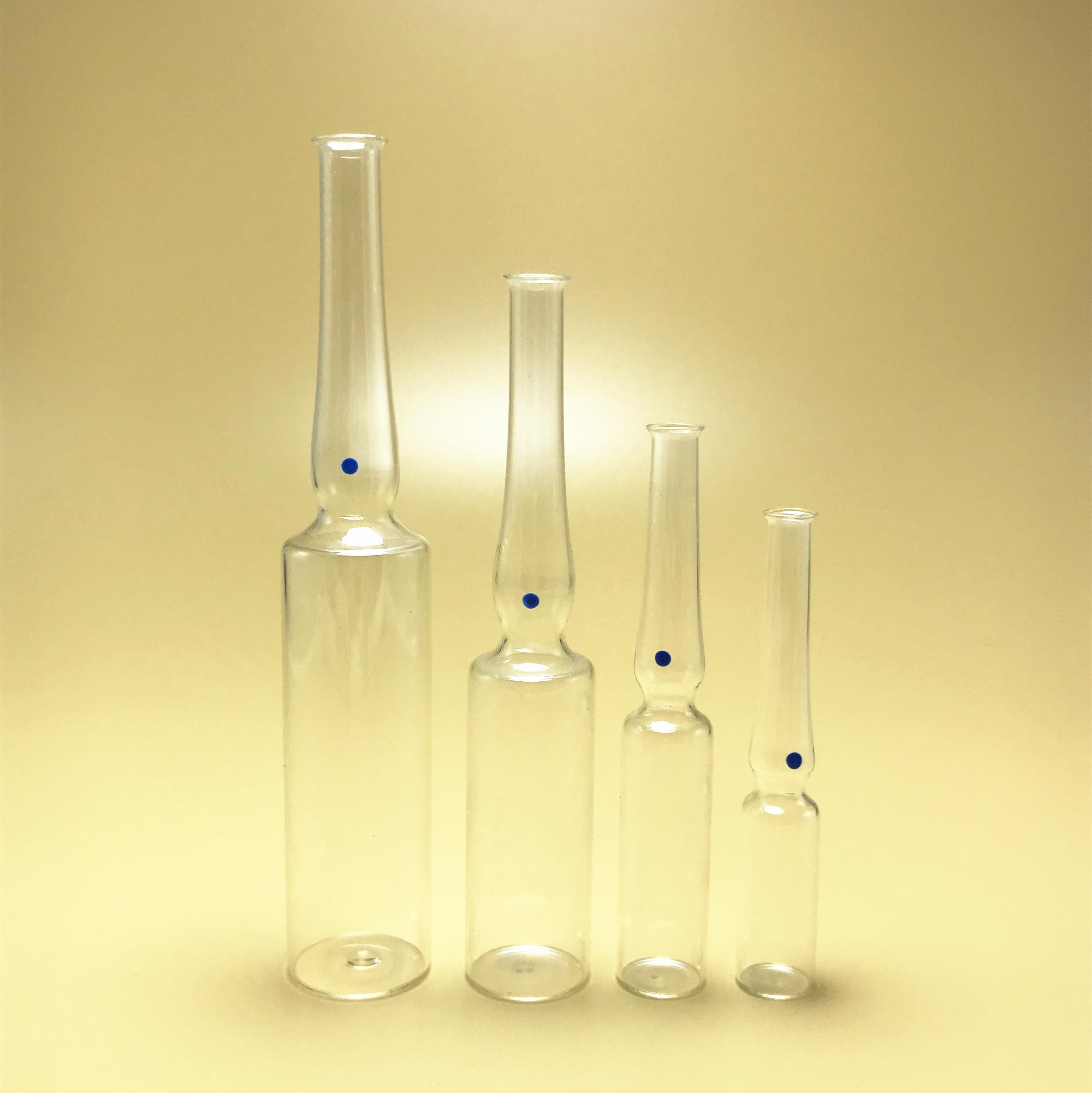 Custom color 1ml 2ml 3ml 5ml 10ml glass Ampoules for injection vials/bottle