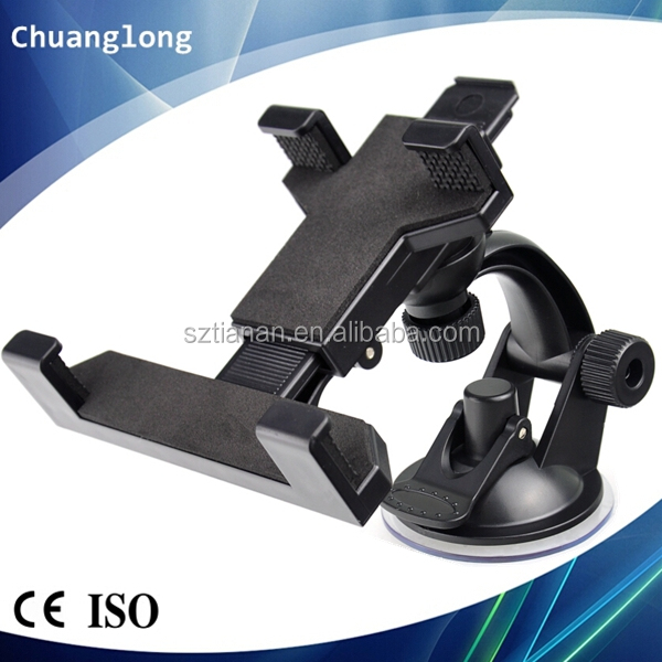 Suction Cup Windshield Mini Tablet PC Mount for 7-8.5 inch iPad