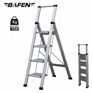 Supply mobile Aluminum step Ladder Made In China EN131 providing ladder of aluminum