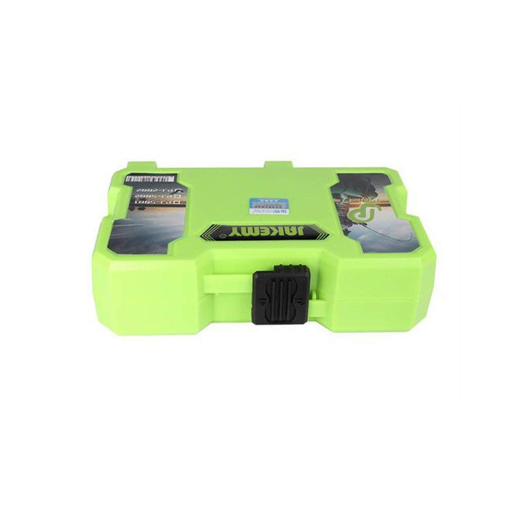 Jakemy Multi Purpose 16 Compartments Double Sided Plastic Waterproof Fishing Storage Box Electronic Components For Tools