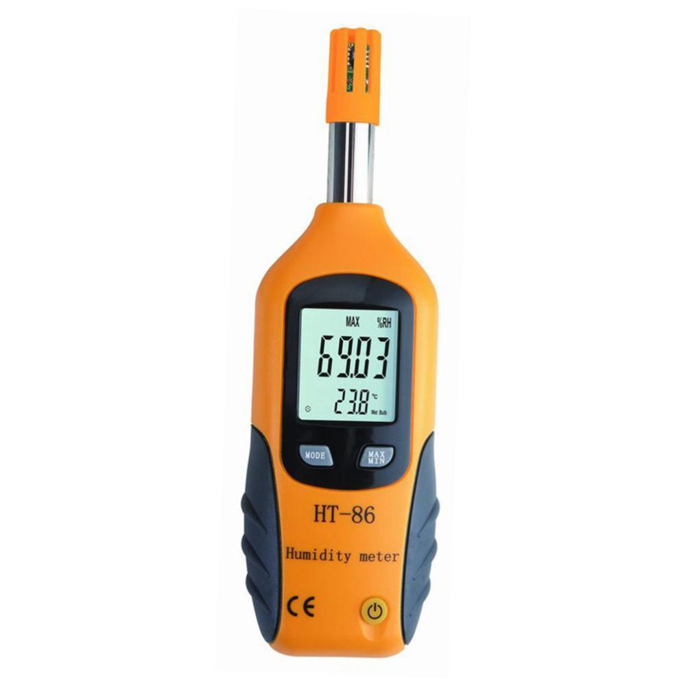 digital Multi-function thermometer hygrometer handheld temperature and humidity meter - KingCare   KingCare.net